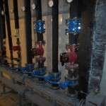 Напольный распределительный узел для отопления