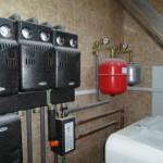 Автономная котельная для отопления дома 350м2